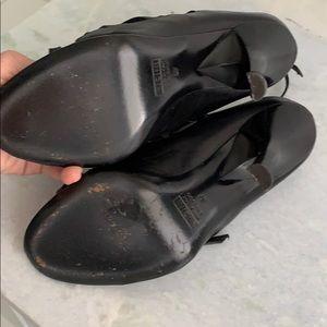 "Giuseppe Zanotti Shoes - Giuseppe Zanotti Design 4"" heel, black leather 7"